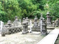 垂水島津家墓地(垂水市指定文化財)