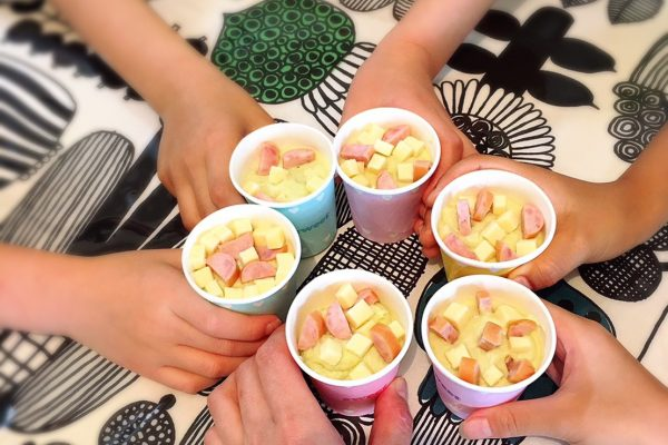 いんげんのポタージュスープアレンジレシピ【豆腐マフィン】